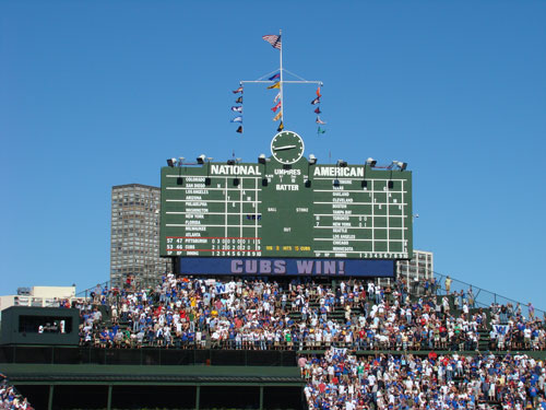 The Friendly Confines: Wrigley Field